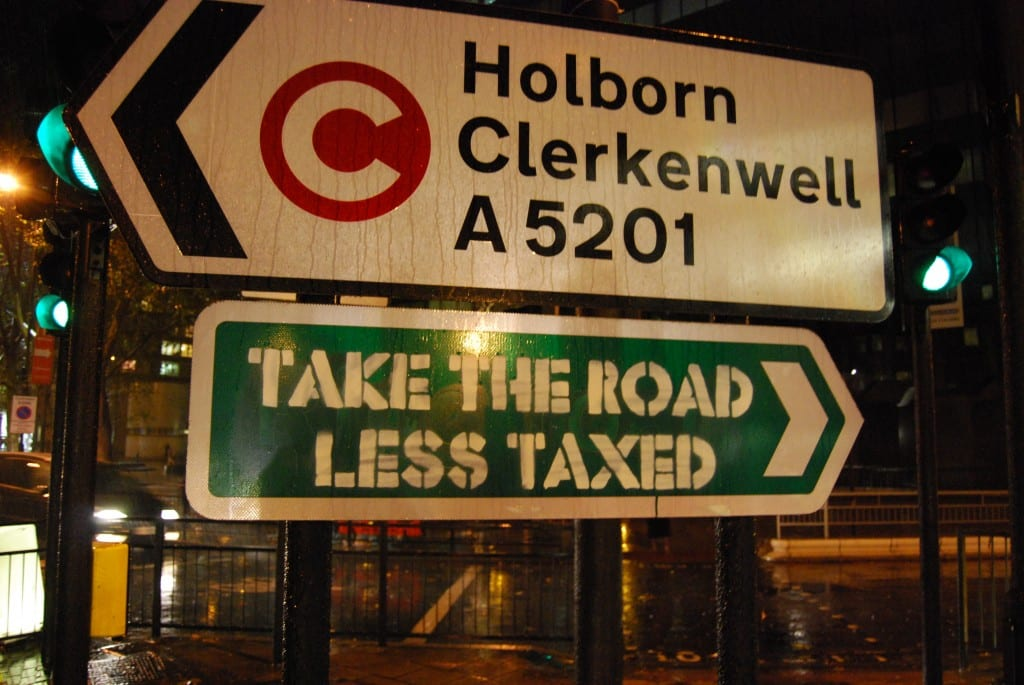 Take the road less taxed!